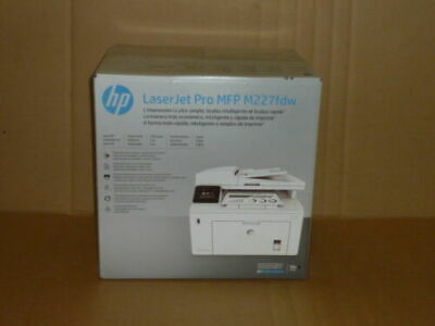 NEW HP LaserJet Pro M227fdw Black-and-White All-In-One Printer - White segunda mano  Embacar hacia Mexico