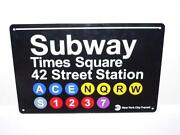 MTA Subway Sign