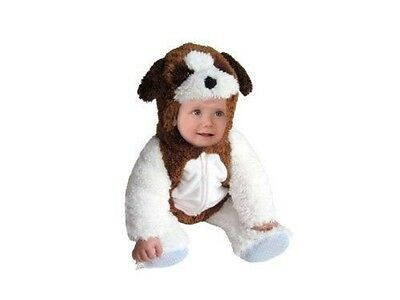Saint Bernard Puppy Halloween (girls or boys infant baby 6-12 months ST. BERNARD puppy dog Halloween)