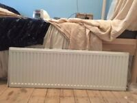1200mm single panel convector radiator - nearly new - FREE TO COLLECT