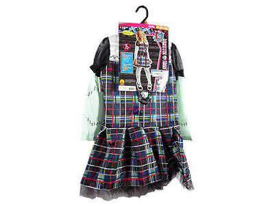 Monster High Frankie Stein 3-Piece Costume Girls Size Medium (8-10) (24b) - Frankie Costume Monster High