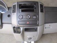 Left hand drive European dashboard/bracket AC Mercedes Sprinter W906 2006 - 2016 LHD conversion