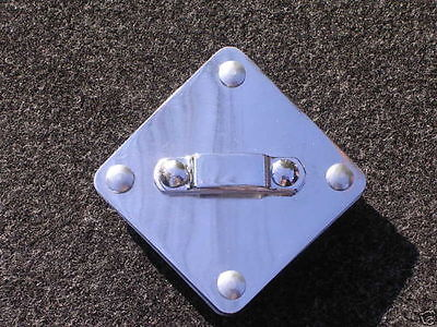 Maxwell Rail Consolette Tom Holder - Diamond Plate