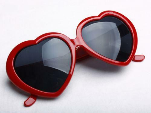 Red Heart Sunglasses Ebay