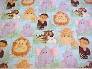 Jungle Babies Fabric
