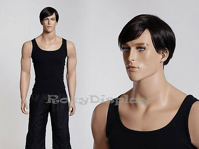 Male Fiberglass Realistic Mannequin Dress From Display Ed-mz