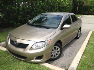 FOR SALE: 2009 TOYOTA COROLLA
