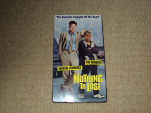 NOTHING TO LOSE, VHS MOVIE, EXCELLENT CONDITION