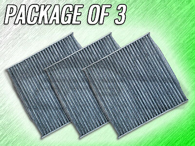 CABIN AIR FILTER FOR EX35 M35 M37 M56 Q70 - PACKAGE OF THREE for sale  Shipping to Canada