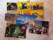 Lego Instructions Lot