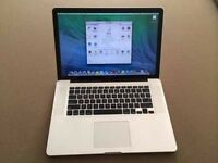 "HIGHEST SPEC MACBOOK PRO 15"" 3.5ghz i7 QUAD CORE 12GB 750GB FULLY LOADED"