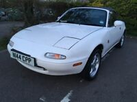 MAZDA MX5,1.6, MK1, 1995,LOW MILAGE WITH EXTENSIVE SERVICE HISTORY 64,000,