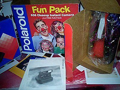 ltd edition fun pack  Polaroid 636 CL Compact Camera Instant + NEW FILM