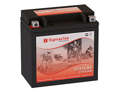 Aprilia Dorsoduro 2009-2013 Replacement Motorcycle Battery by SigmasTek
