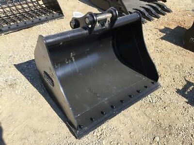 New Diesel 42 Excavator Grading Bucket Fits Cat 305 John Deere 50d 50g 603179