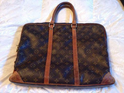 Vintage Louis Vuitton Briefcase Ebay