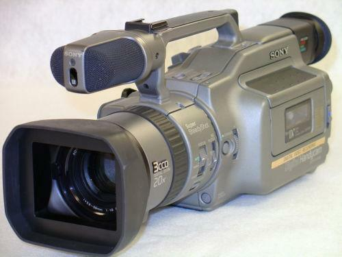 Sony Handycam Dcr Vx1000 Ebay