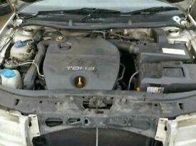 Skoda Octavia 1.9 Tdi Engine, Diesel Pump & Injectors Only AWX 2004
