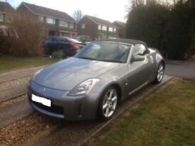 UK NISSAN 350Z V6 Convertible 2005 with Upgrades 2005 85k miles Gunmetal Grey
