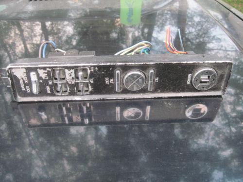 1999 Buick Power Window Switch