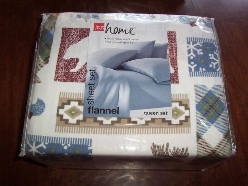 Queen Flannel Sheets Ebay