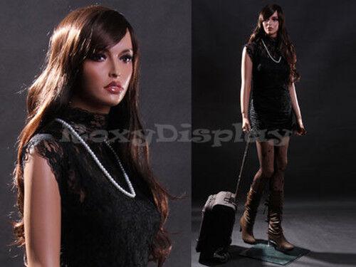 Female Fiberglass Mannequin Beautiful Face with elegant pose Style #MZ-LISA9