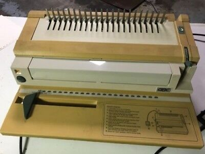 Gbc Binding Machine - Manual And Electric Punch Book Binder