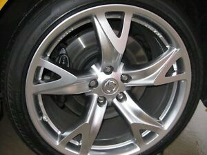 Wanted- Nissan 370z rims and Tires
