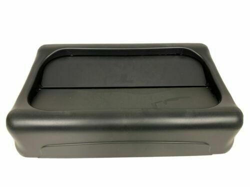 Rubbermaid Swing Top Lid (Black) for Slim Jim Waste Containers 267360BK NEW