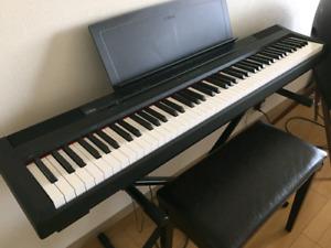 Yamaha P-105 88 keys weighted digital piano