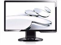 2 BenQ G2420HDBL 24-inch Widescreen LED Back-Light Monitors