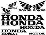 Honda Motorcycle Stickers