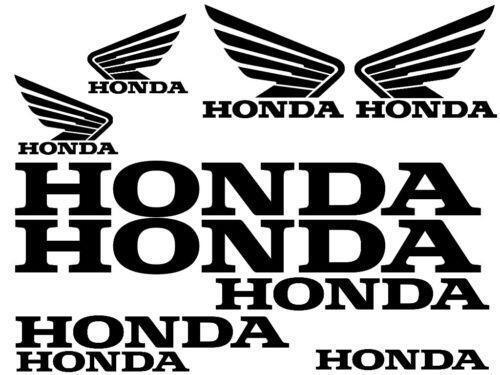 Honda motorcycle stickers ebay