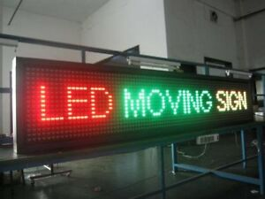 LED SIGNS SCROLLING INDOOR & OUTDOOR LED