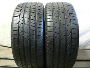 Set of 2 315/35/20 Pirelli 80% tread (run flat)