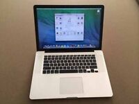 "HIGHEST SPEC MACBOOKS OOK PRO 15"" 3.5ghz i7 QUAD CORE 12GB 750GB FULLY LOADED"
