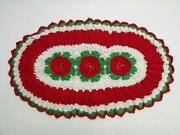 Red Crochet Doilies
