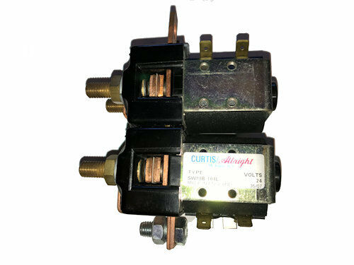 Curtis/Albright DC Contractor Type SW88-104L, 24VDC Coil