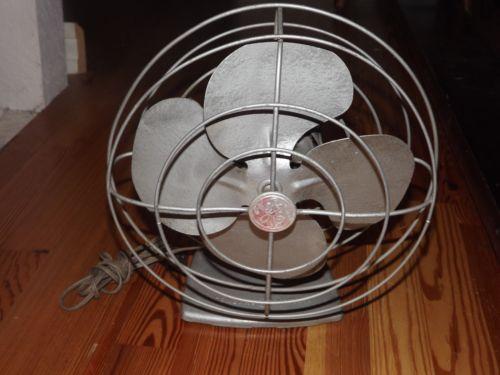 Vintage Ge Oscillating Fan Ebay