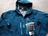 Arcteryx Alpha SV jackets brand new tagged sz XL two colours available