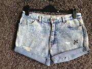 Womens Vintage Denim Shorts