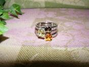 Sterling Silver Ring Settings Size 8