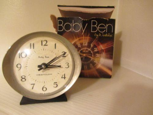 Vintage Wind Up Clock Ebay