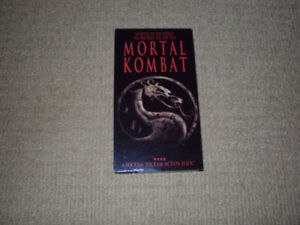 MORTAL KOMBAT, VHS MOVIE, EXCELLENT CONDITION