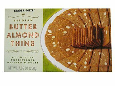 (Trader Joe's Belgian Butter Almond Thins 7.05 oz)