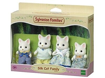 Sylvanian 4175 Families Silk Cat Family