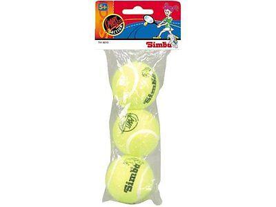 Hund Spielzeug Für Kinder (Hunde Spielball Tennisball Kinder Ball 3 Tennis Bälle für draußen NEU+OVP!)