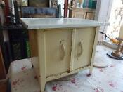 Retro Vintage Kitchen Cupboard