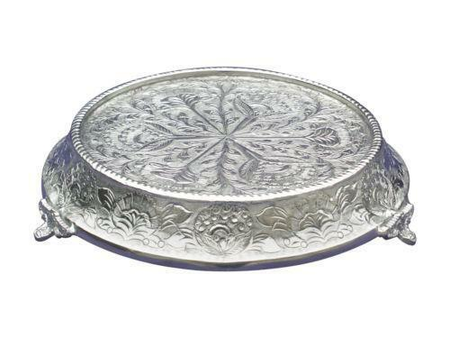 silver 14 round napier wedding cake stand base 14 quot wedding cake stand ebay 19848