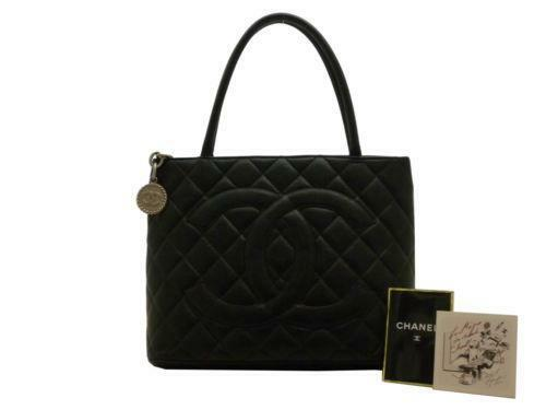 chanel handbag caviar medium ebay